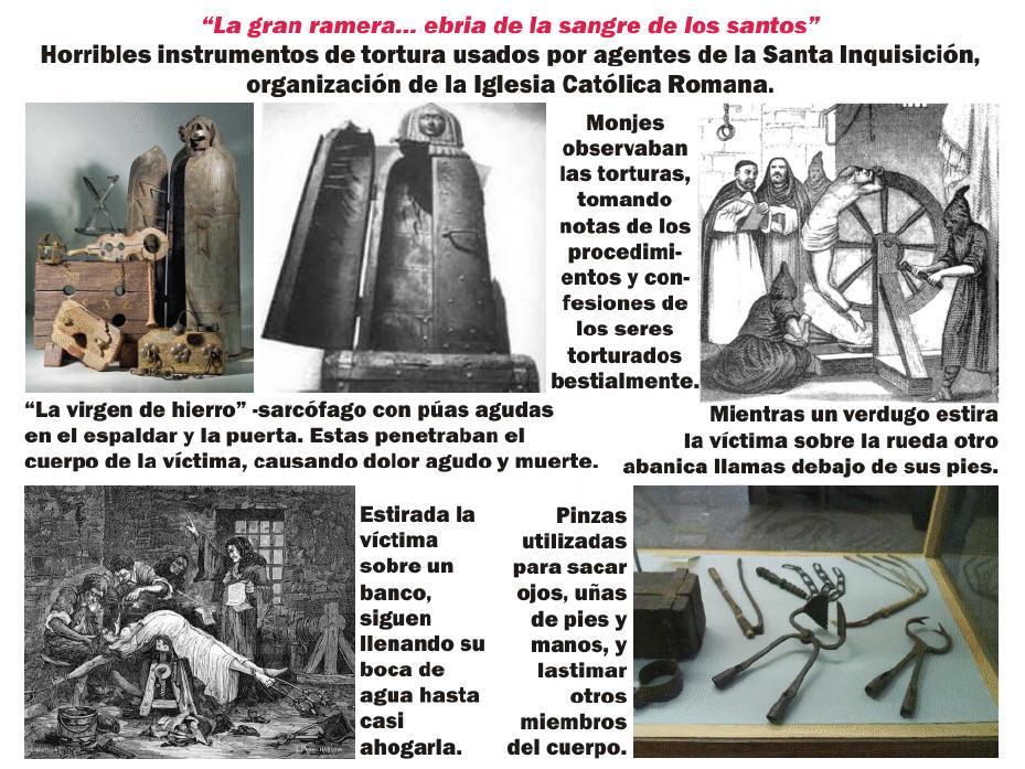 La gran ramera ebria de la sangre de los santos