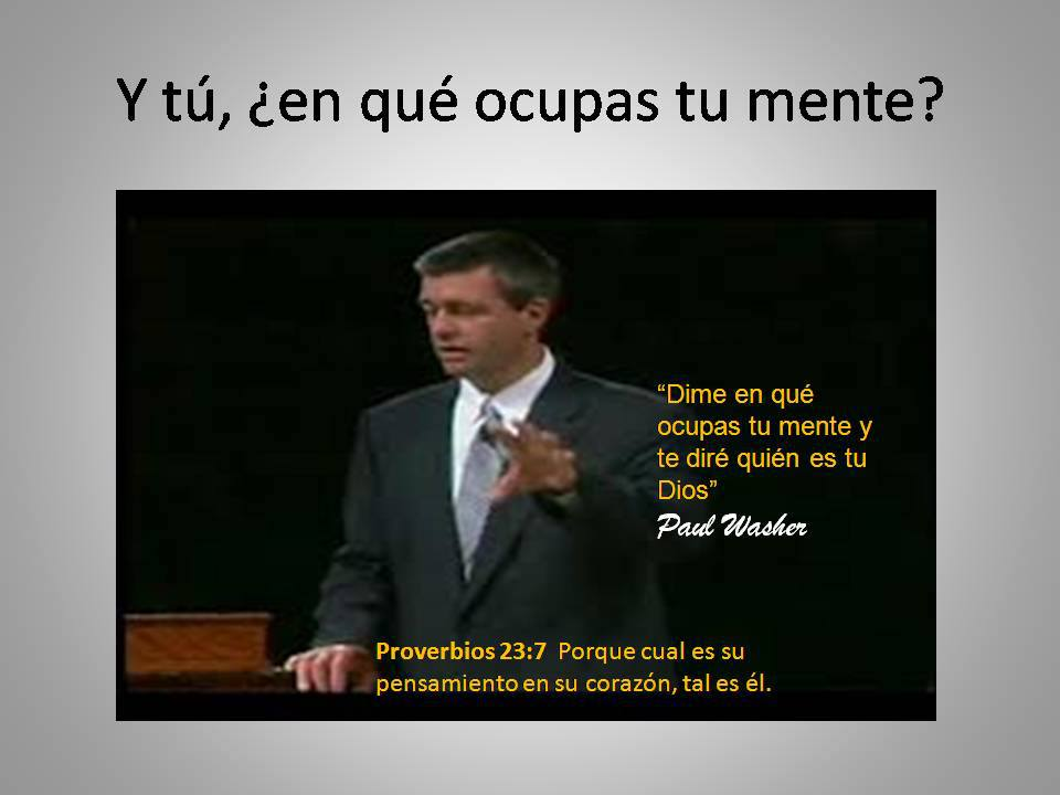 Reflexion de Paul Washer