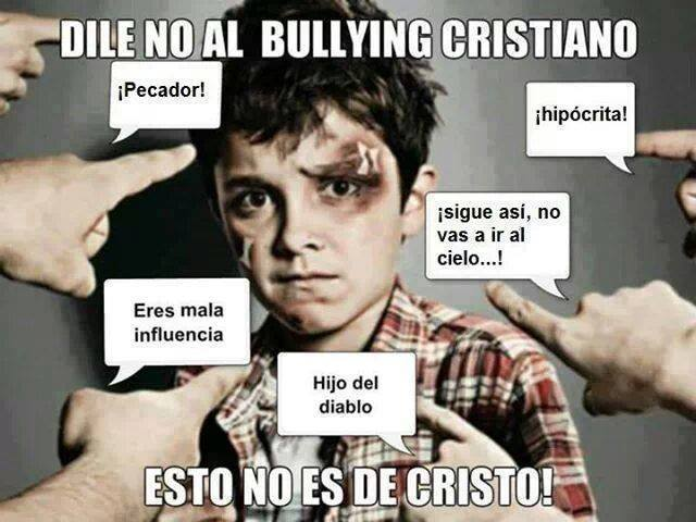 No al Bullying Cristiano