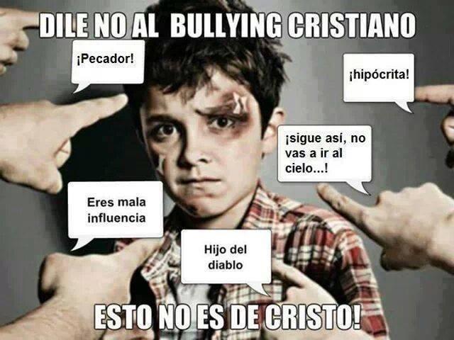 No al Bullying Cristiano