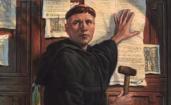 Frase celebre de Martin Lutero.