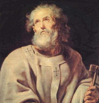 Pedro el primer papa?