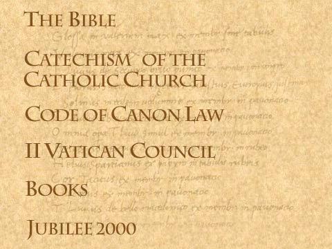 Catolicismo = Biblia + (catecismo, canons del vaticano, padres de la iglesia) ¿Qué dice la Biblia?