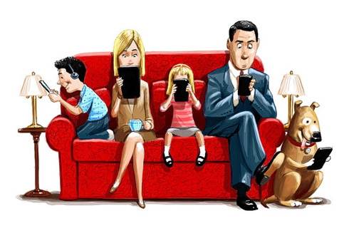 Mal uso de la tecnología en familias cristianas