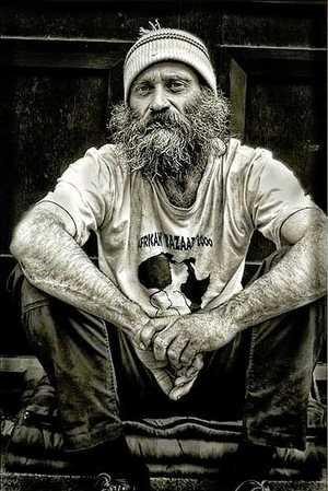 La parábola conmovedora del pastor 'homeless'