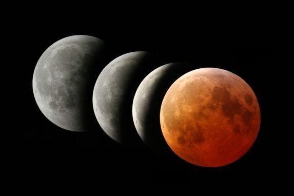 Eclipse total de luna: La luna de sangre revive numerosas teorías del fin del mundo y profecías apocalípticas