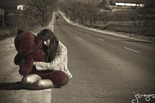 La niña abandonada