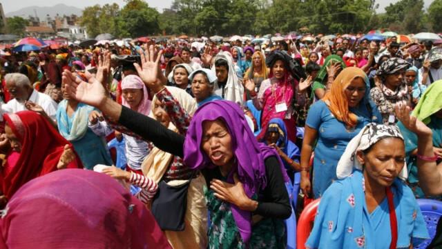 Nepal vive el mayor Avivamiento de Cristianos en el Mundo