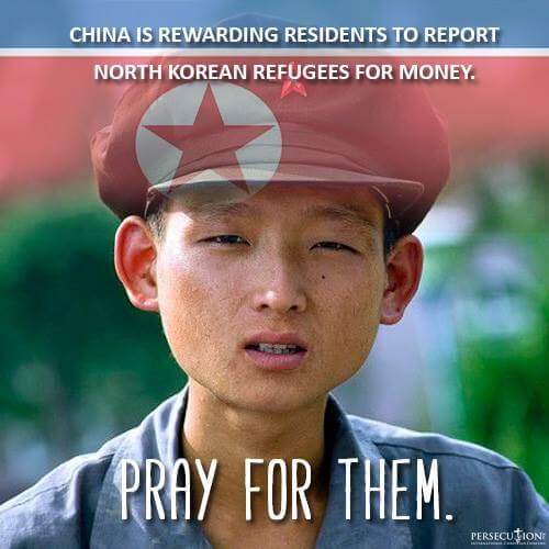 China toma medidas drásticas contra Corea del Norte refugiados que huyen de la Dictadura