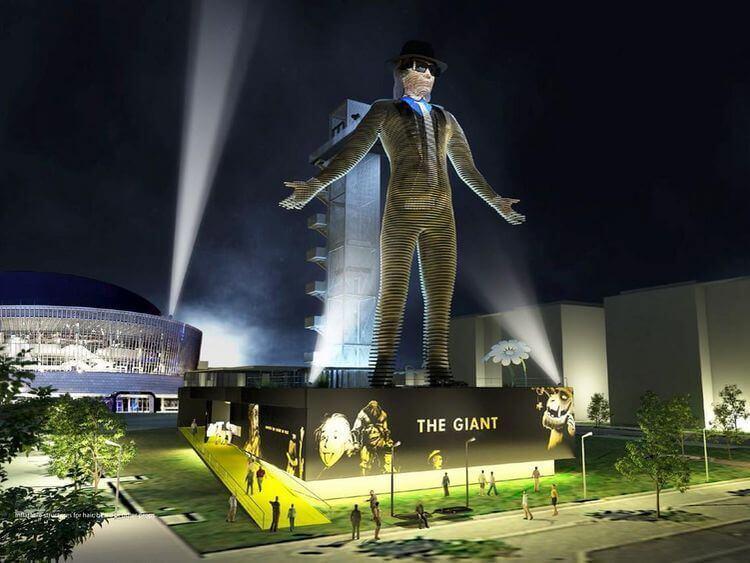 Estatua gigante que habla y se mueve estará lista para el 2017, quizá sea la que dará vida a la imagen de la bestia?