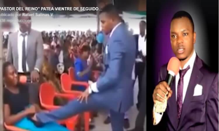 """""""Pastor del reino"""" patea vientre de seguidora embarazada para impartir """"la unción"""""""