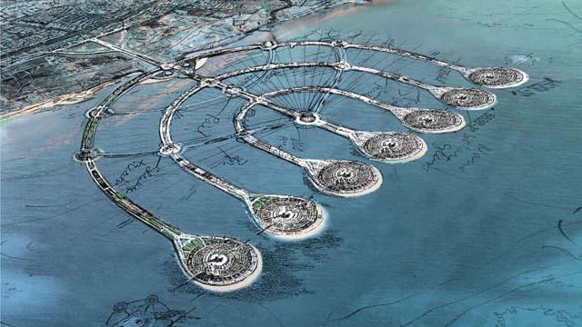 Las Islas Menorá: Uno de los grandes proyectos de Israel