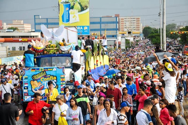 En medio de hambre, Venezuela Marcha para Jesús