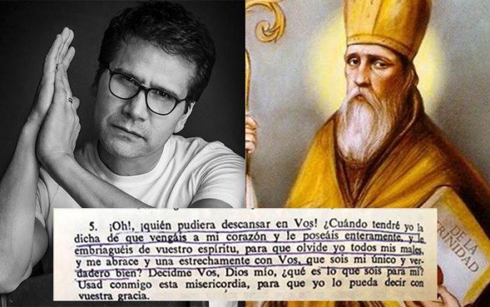 Jesús Adrián Romero comparte una cita de San Agustín en Facebook y así reaccionan sus seguidores