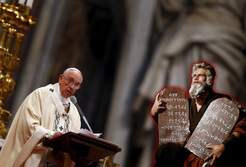 El Vaticano usa la figura de Moisés para promover el Ecumenismo