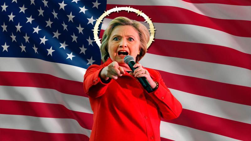 """""""Soy la única que puede salvarlos del Apocalipsis"""" manifiesta Hillary Clinton"""