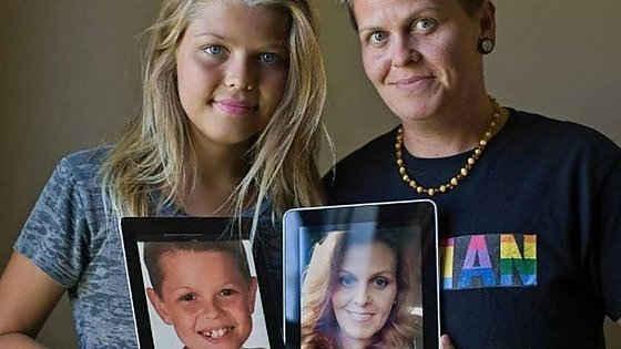 Padre e hija transexual revelan su transición de madre e hijo