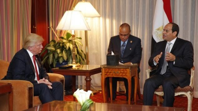 Al Sisi presentaría hoy a Donald Trump una nueva propuesta de paz para Medio Oriente