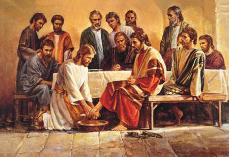 Siguiendo el ejemplo de Cristo