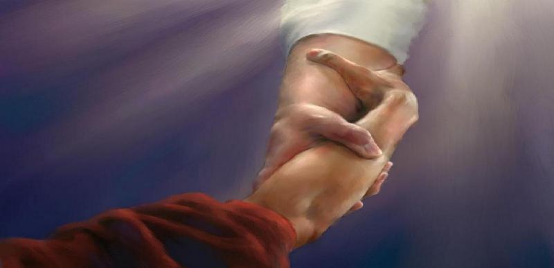 Dios guía gentilmente