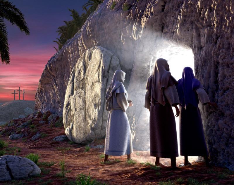 La iglesia da testimonio de la resurrección