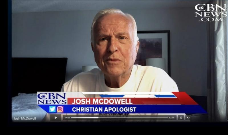Josh McDowell dice que por fe perdonó a quien abusó de él en su infancia