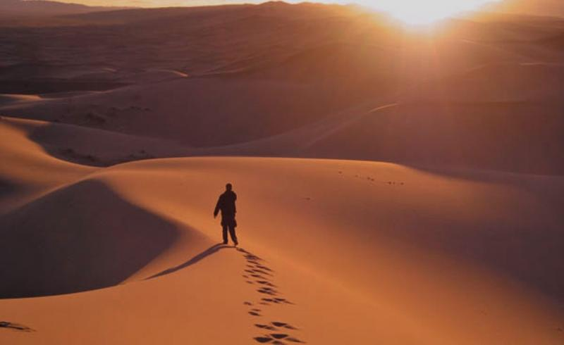 En los desiertos, la presencia del Señor se vuelve todo