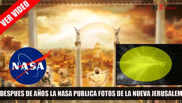 NASA descubrió Nueva Jerusalén es una falsa noticia y sátira
