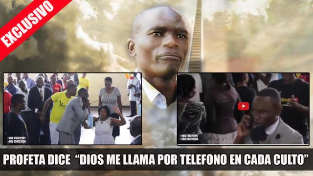 Profeta afirma recibir llamadas telefónicas de Dios para dar su mensaje profético [VÍDEO]