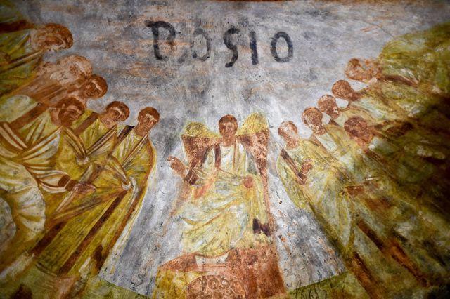 Pinturas cristianas en catacumbas de Roma son reveladas