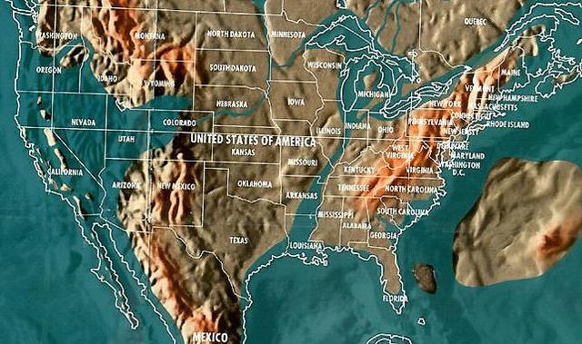 Lanzan mapa de lugares que no sobrevivirán al fin del mundo