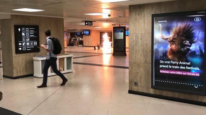 Alerta en Bruselas: la policía abatió a un musulmán que llevaba un cinturón de explosivos