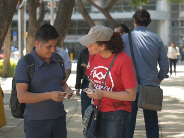 Más de 120 mil cristianos comparten a Jesús en México