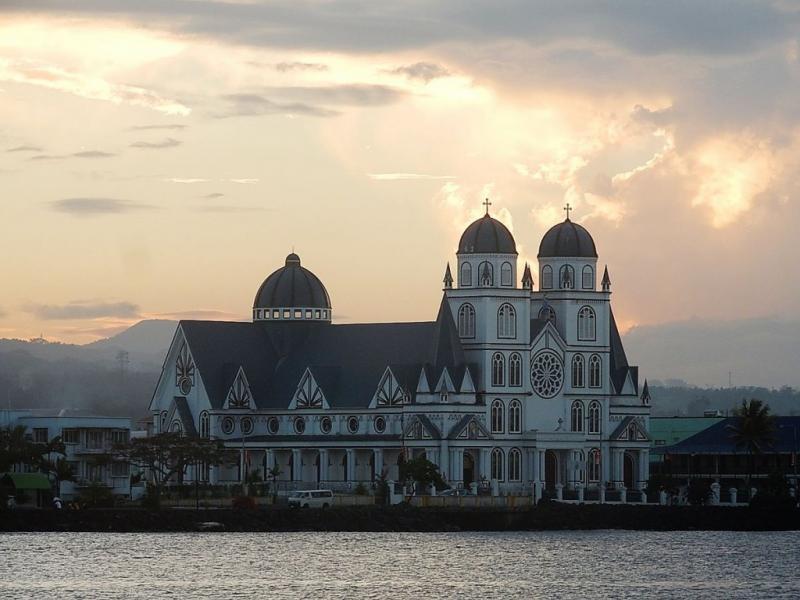"""Samoa es el primer país del mundo en declararse """"cristiano"""""""