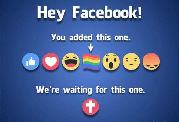 Facebook rechaza petición de cristianos