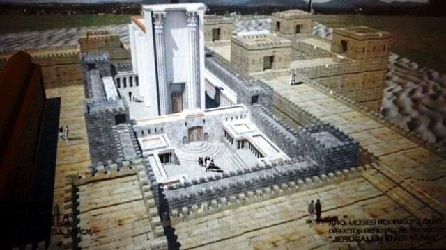 Construirán una Jerusalén y réplica del Templo de Salomón en Chiapas