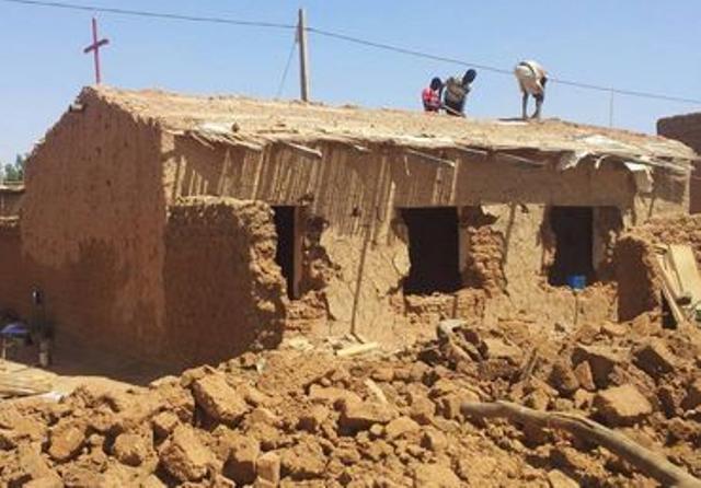 Sudán destruye iglesias cristianas y quiere implantar la sharia