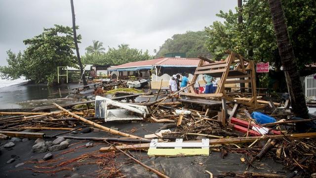 Tras el pasó de huracán María en Dominica: 'Sobreviviremos por la gracia de Dios'