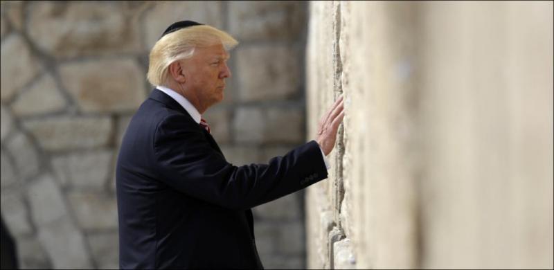 """Trump promete que pronto Israel tendrá """"acuerdo final"""" de paz"""