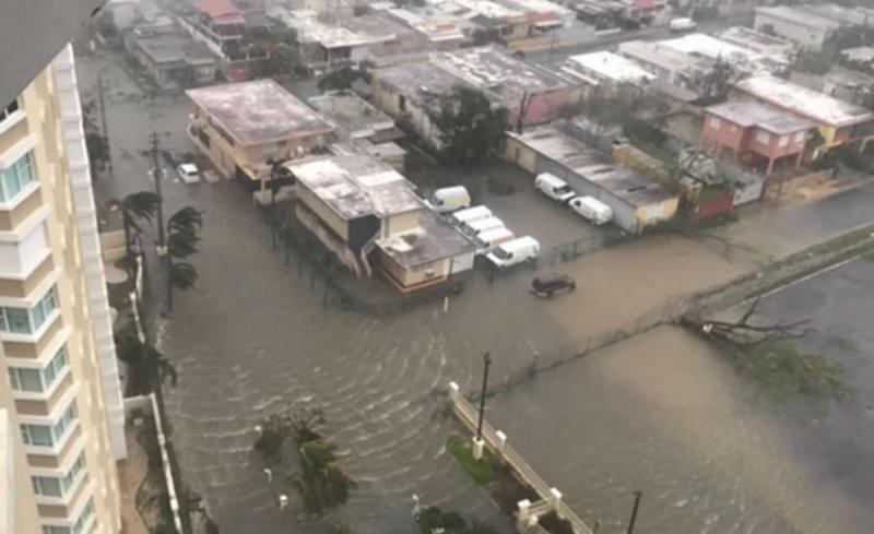 """Gobernador de Puerto Rico: """"Que Dios proteja a cada uno"""" del huracán María"""