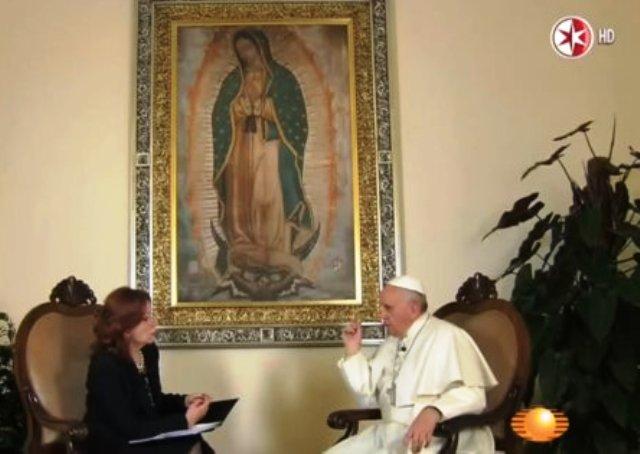 Viral video del papa Francisco afirmando que el diablo está castigando a México