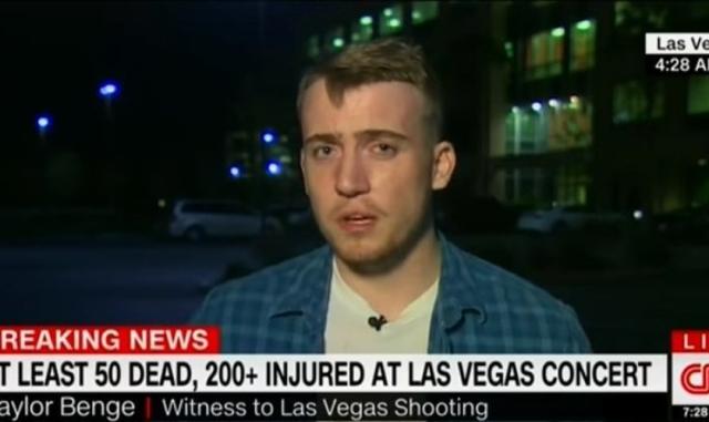 """Sobreviviente de masacre en Las Vegas: """"Yo era agnóstico, pero ahora creo en Dios"""""""