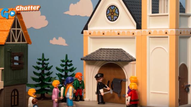 Animación cuenta historia de la Reforma para niños y adultos