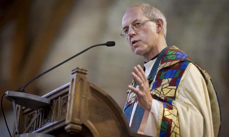 Justin Welby líder de la Iglesia Anglicana en contra de Israel