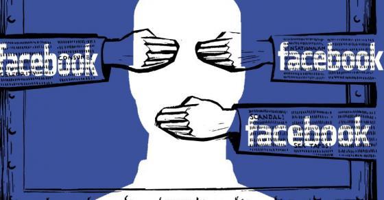 Facebook acusado de manipular flujo de información contra conservadores