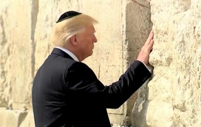 Trump contra ONU y declarará que Muro de las Lamentaciones es de Israel
