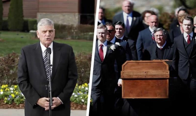 Familia atiende deseo de Billy Graham y predica el Evangelio en su funeral