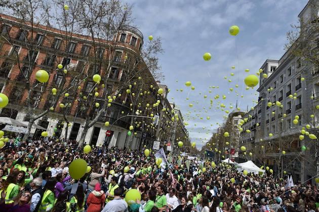 Más de 30 mil personas van a las calles a protestar contra el aborto