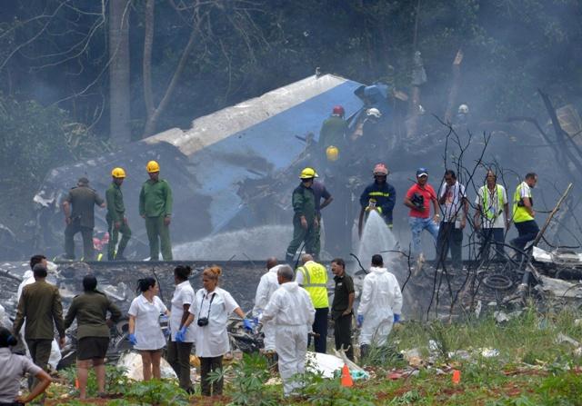 Mueren 10 parejas pastorales a bordo de un avión que cayó en Cuba
