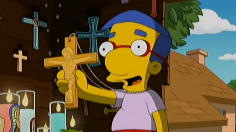 'Los Simpson' se burlan del cristianismo llamándola 'religión tonta'